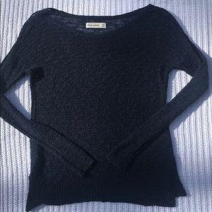 Abercrombie Navy Cozy Sweater